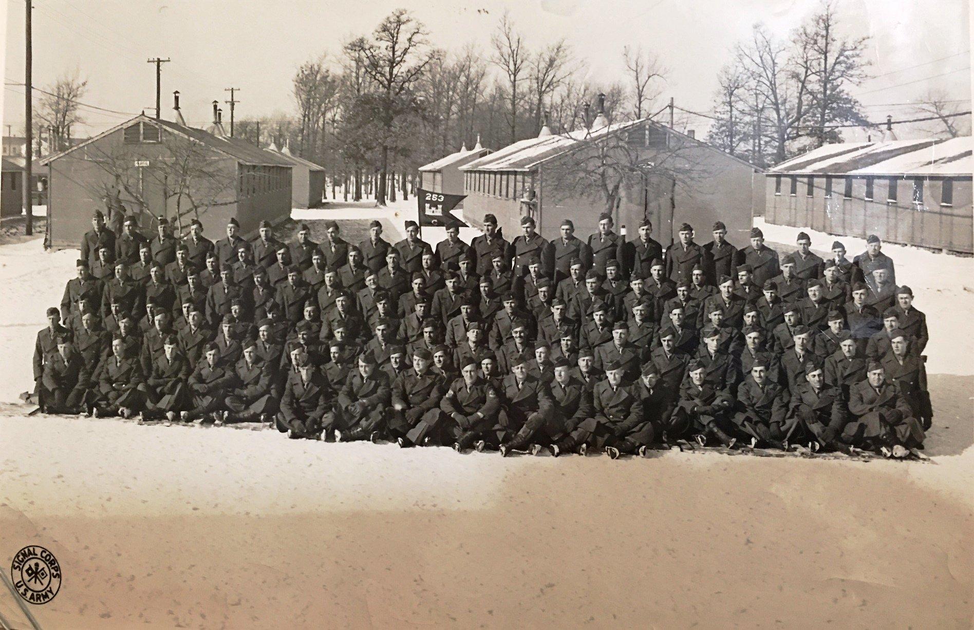 253rd Engr Combat BN.Camp Crowder 1944.JPG