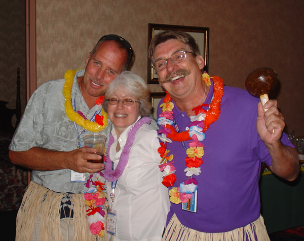 Scott Currier, Marion Chard and Ray West