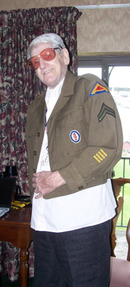 Frank West 235th Eng Bn sporting Marion's Engineer jacket