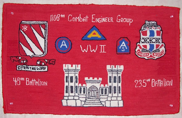 1108th Combat Engineer Group Banner