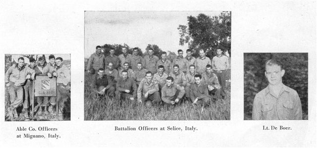 Co A 48th Engineers Officers