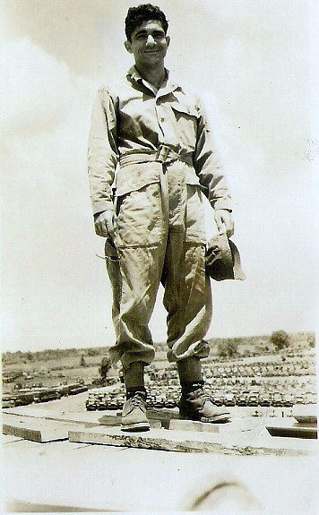 Lt. Mike Gomez, Manila May 1946