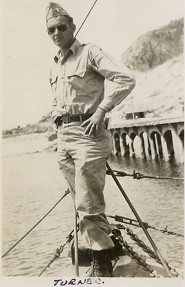 Lt. Turner, Corregidor, PI, April 1946