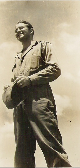 Lt. Turner, Manila, May 1946