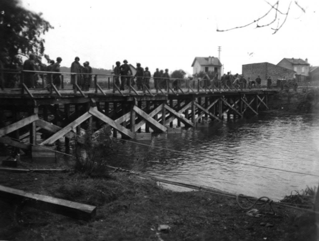 Bridge at Luneville, Company A and 163rd Engineers - 8 of 8