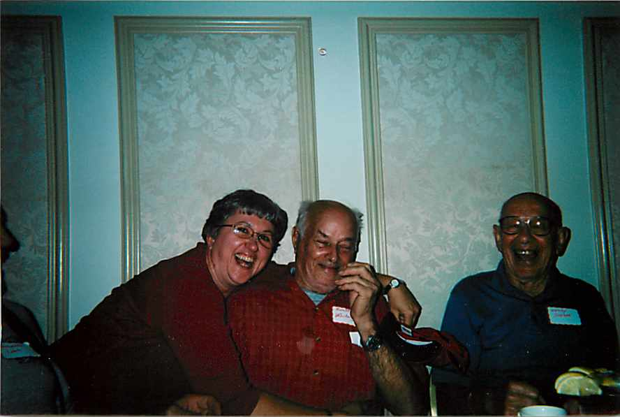 Harold Whiting (in red) 2007 Reunion