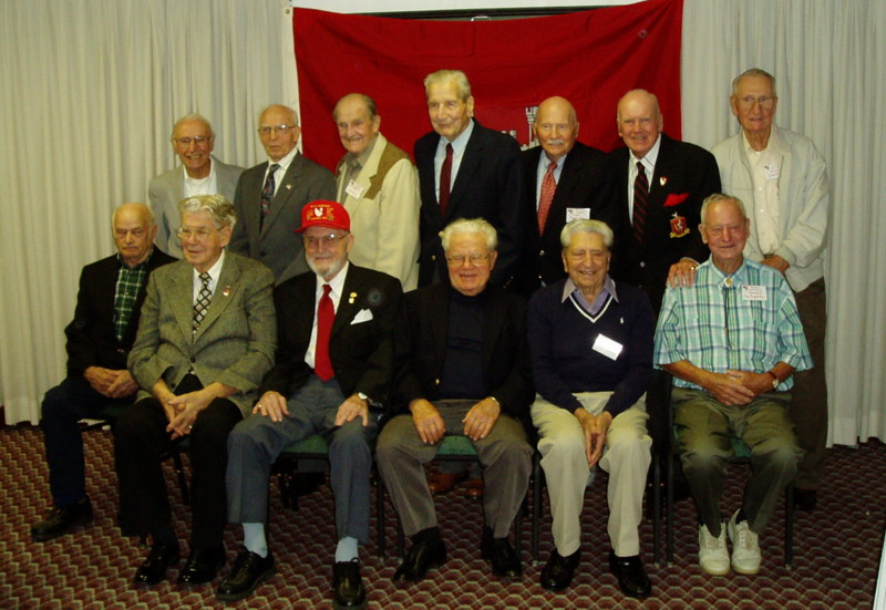 36th Engineers with guest veterans