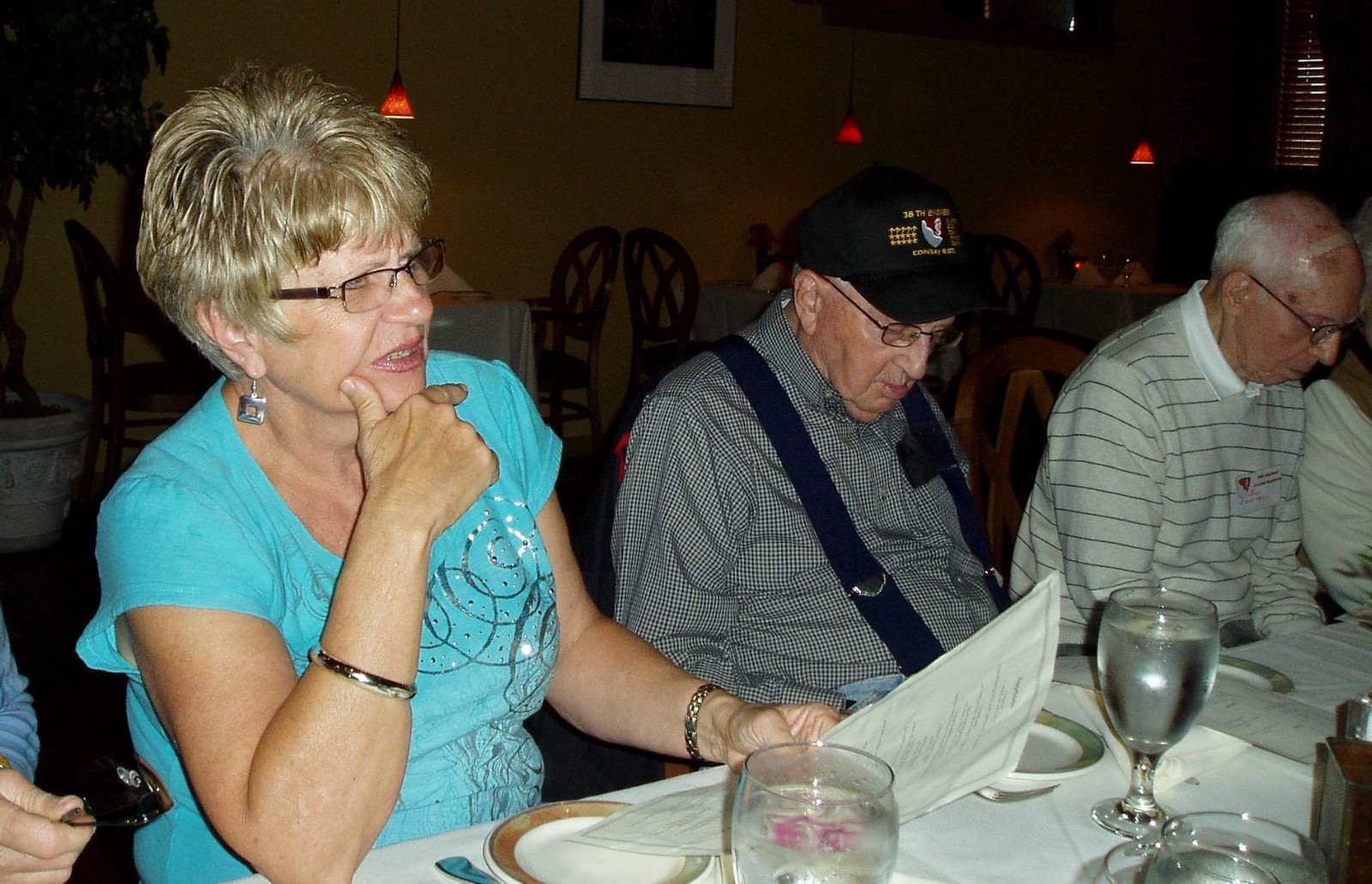 Friday Nite Dinner - Donna Mong, Don Walters and John Zappitello.JPG