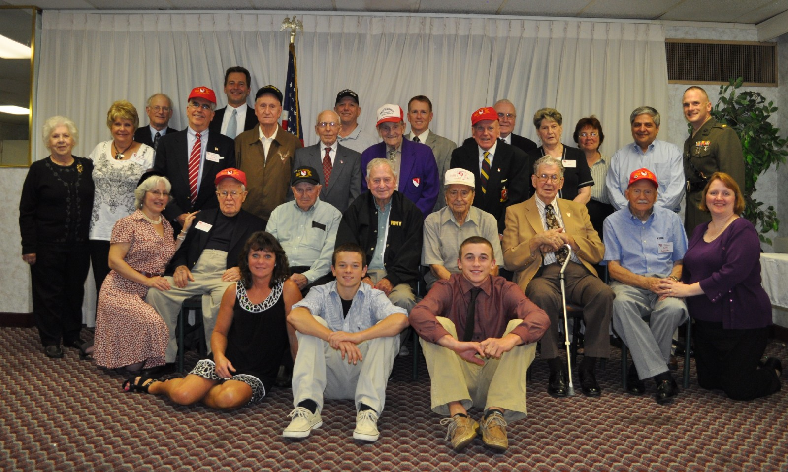 Veterans and family 2011.JPG